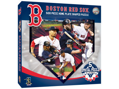 Boston Red Sox 500 Piece Shaped Puzzle