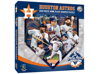 Houston Astros 500 Piece Shaped Puzzle