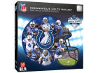 Indianapolis Colts 500 Piece Shaped Puzzle Toys & Games