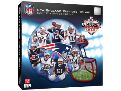 New England Patriots 500 Piece Shaped Puzzle