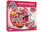 Ohio State Buckeyes 500 Piece Shaped Puzzle Toys & Games