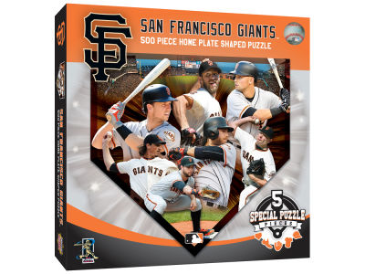 San Francisco Giants 500 Piece Shaped Puzzle