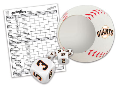 San Francisco Giants Shake N Score Game