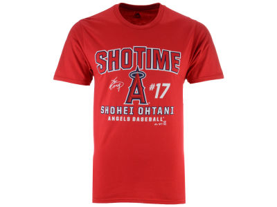 Los Angeles Angels Shohei Ohtani Majestic MLB Men's Ohtani Showtime T-shirt