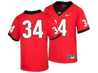Georgia Bulldogs Nike NCAA Youth Replica Game Jersey