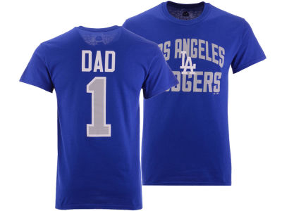 Los Angeles Dodgers Majestic MLB Men's Team Dad T-Shirt