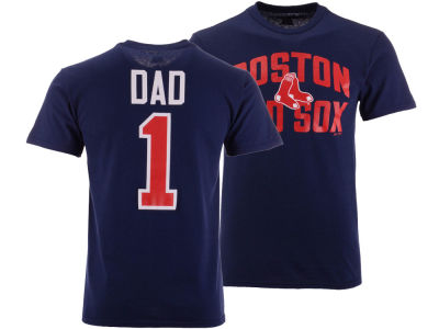 Boston Red Sox Majestic MLB Men's Team Dad T-Shirt