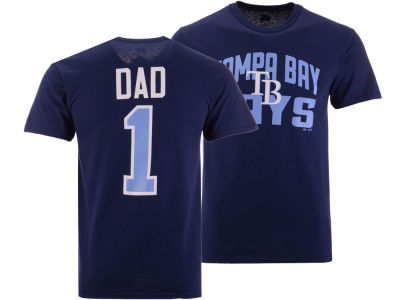Tampa Bay Rays Majestic MLB Men's Team Dad T-Shirt
