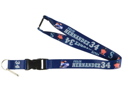 Seattle Mariners Felix Hernandez Player Lanyard