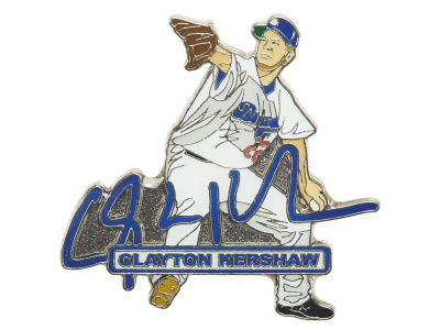 Los Angeles Dodgers Clayton Kershaw Aminco Player Signature Pin