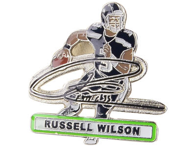 Seattle Seahawks Russell Wilson Aminco Player Signature Pin