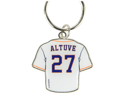 Houston Astros Jose Altuve Aminco Jersey Spinner Keychain - Player