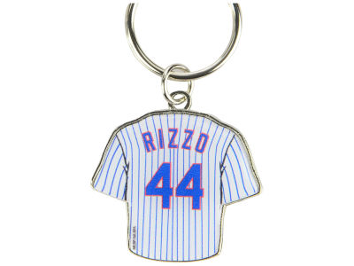Chicago Cubs Anthony Rizzo Aminco Jersey Spinner Keychain - Player