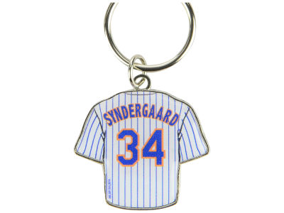New York Mets Noah Syndergaard Aminco Jersey Spinner Keychain - Player