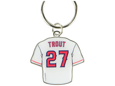 Los Angeles Angels Mike Trout Aminco Jersey Spinner Keychain - Player