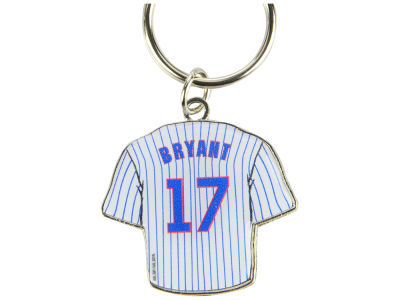 Chicago Cubs Kris Bryant Aminco Jersey Spinner Keychain - Player