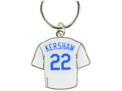 Los Angeles Dodgers Clayton Kershaw Aminco Jersey Spinner Keychain - Player