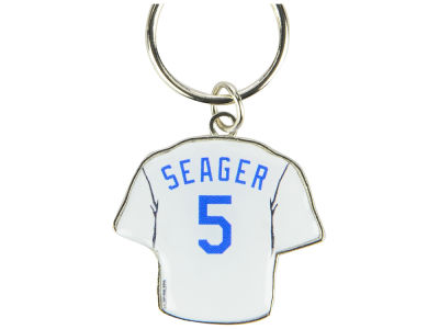 Los Angeles Dodgers Corey Seager Aminco Jersey Spinner Keychain - Player