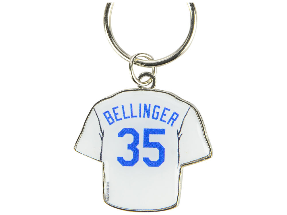Los Angeles Dodgers Cody Bellinger Aminco Jersey Spinner Keychain - Player   d07a313a9