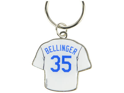 Los Angeles Dodgers Cody Bellinger Aminco Jersey Spinner Keychain - Player