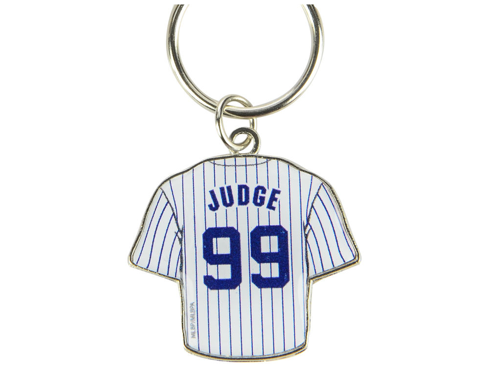 New York Yankees Aaron Judge Aminco Jersey Spinner Keychain - Player ... 2348d5436