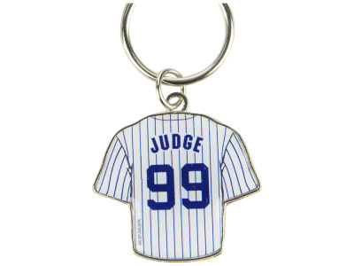 New York Yankees Aaron Judge Aminco Jersey Spinner Keychain - Player