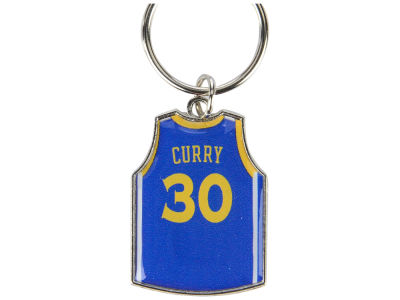 Golden State Warriors Stephen Curry Aminco Jersey Spinner Keychain - Player