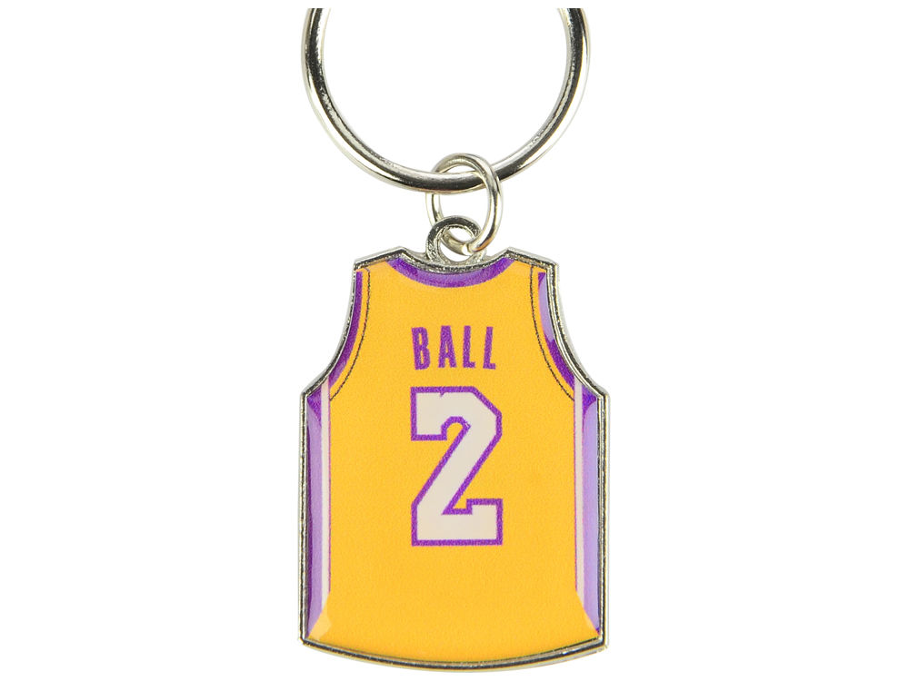 Los Angeles Lakers Lonzo Ball Aminco Jersey Spinner Keychain - Player  3424e6655