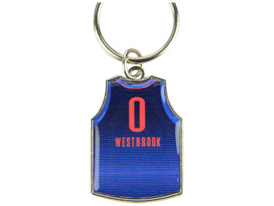 Oklahoma City Thunder Russell Westbrook Aminco Jersey Spinner Keychain - Player