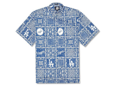 Los Angeles Dodgers MLB Men's Lahaina Print Shirt