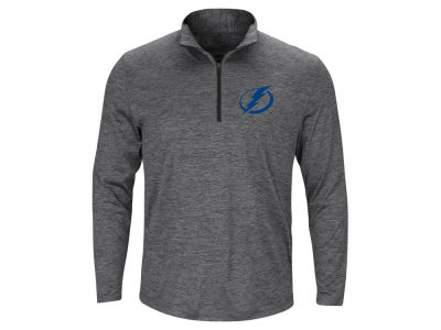 Tampa Bay Lightning Majestic NHL Men's Prime Logo Quarter Zip Pullover