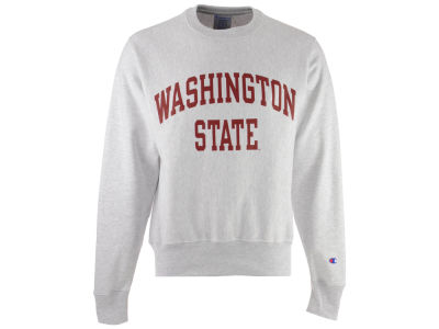Washington State Cougars Champion NCAA Men's Reverse Weave Crew Sweatshirt