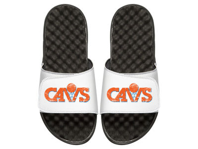 Cleveland Cavaliers Youth Hardwood Classic Distressed Sandals