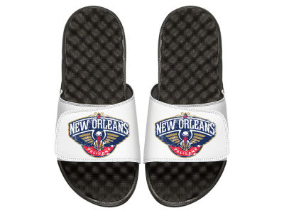 New Orleans Pelicans Youth Hardwood Classic Distressed Sandals
