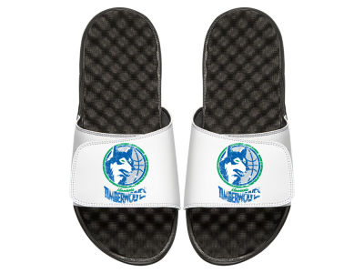 Minnesota Timberwolves Youth Hardwood Classic Distressed Sandals