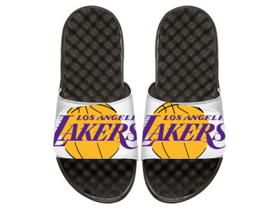 Los Angeles Lakers Youth Big Logo Sandals