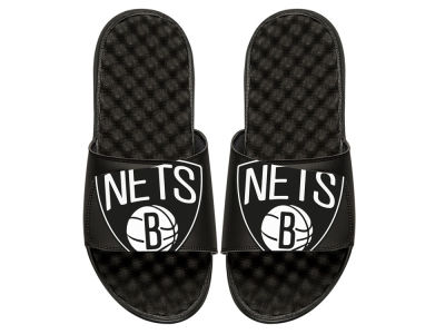 Brooklyn Nets Youth Big Logo Sandals