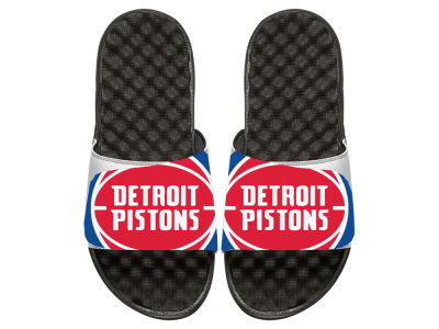 Detroit Pistons Youth Big Logo Sandals