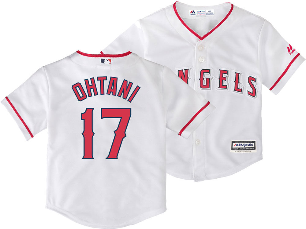 Los Angeles Angels Shohei Ohtani Majestic MLB Toddler Player Replica Cool  Base Jersey  d60a150bf