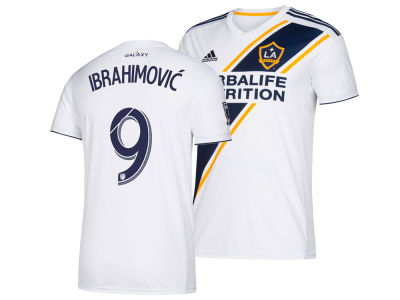 LA Galaxy Zlatan Ibrahimovic adidas MLS Men's Primary Replica Jersey