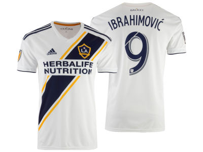LA Galaxy Zlatan Ibrahimovic adidas MLS Youth Primary Replica Jersey