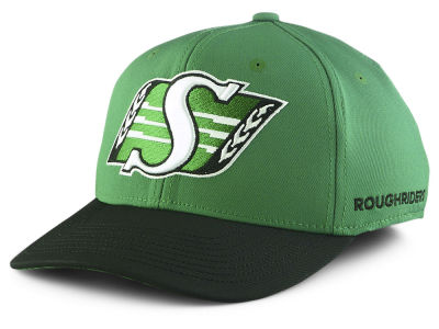 Saskatchewan Roughriders adidas 2018 CFL Coach Flex Cap