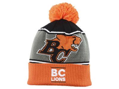 3456caee01d BC Lions adidas 2018 CFL Cuffed Pom Knit