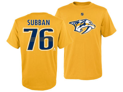 Nashville Predators P.K. Subban Outerstuff NHL Kids Player T-Shirt