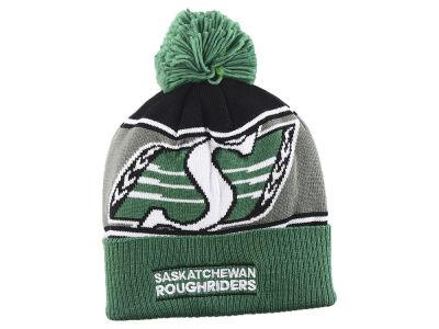 27cae683fd5 Saskatchewan Roughriders adidas 2018 CFL Cuffed Pom Knit