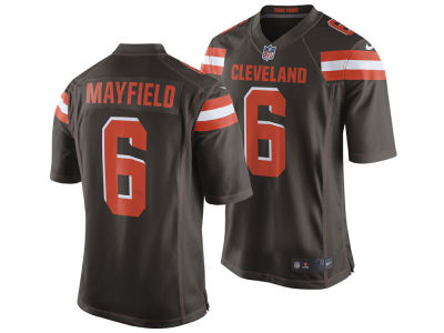 Cleveland Browns Baker Mayfield Nike NFL Men's Draft Game Jersey