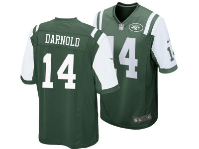 New York Jets Sam Darnold NFL Men's Draft Game Jersey