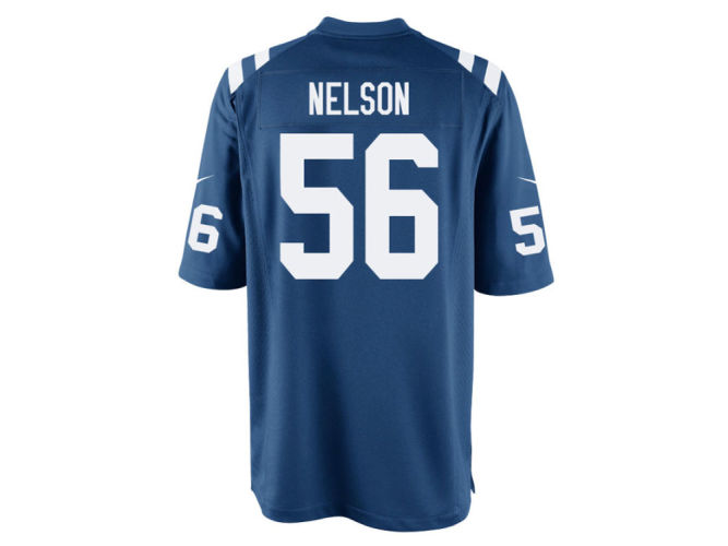 Quenton Nelson Indianapolis Colts Nike NFL Men s Game Jersey ... a53c5938c