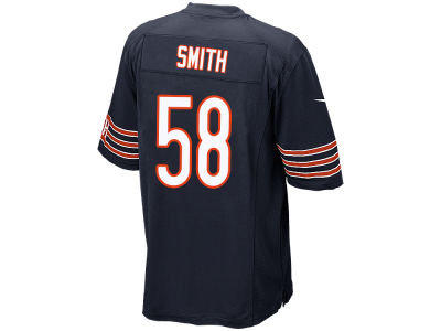 Chicago Bears Roquan Smith Nike NFL Men's Draft Game Jersey