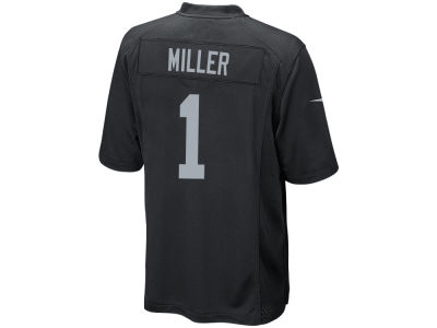 Oakland Raiders Kolton Miller NFL Men's Draft Game Jersey